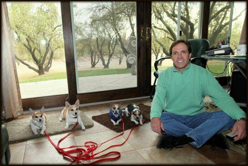 David Baron the behavioral dog trainer in Roseville, CA - November 18, 2013.